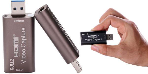 Capturadora HDMI Rullz USB 3.0 portatil