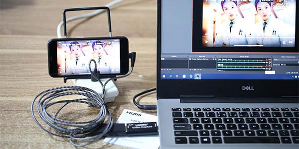 Capturadora HDMI Rullz USB 3.0