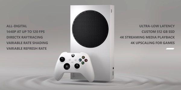 Características técnicas Xbox Series S