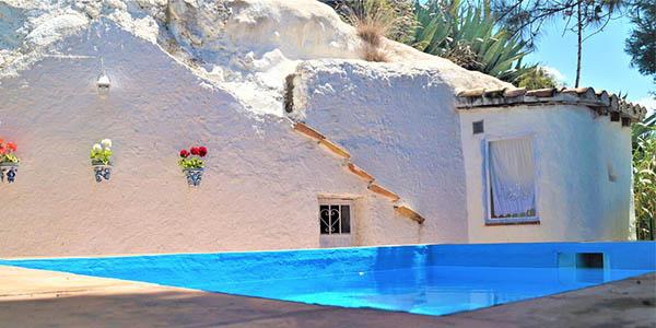 Casa cueva La Estrella alojamiento rural barato en Granada