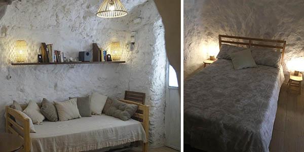 Casa-cueva La Estrella en Granada para hacer una escapada barata