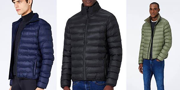 chaqueta acolchada para hombre Meraki oferta