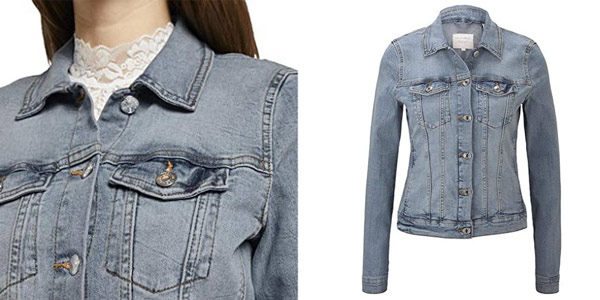 Chaqueta vaquera Tom Tailor Denim para mujer chollazo en Amazon