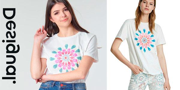 Chollo Camiseta Desigual Milan para mujer