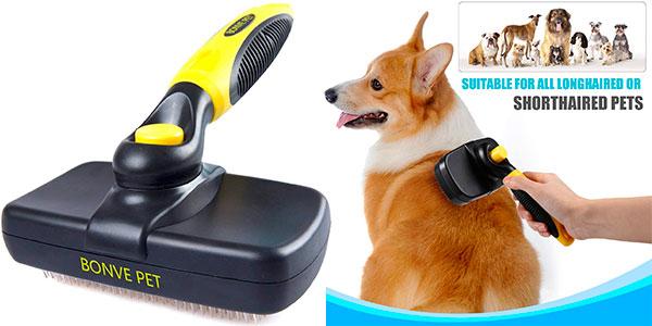 Chollo Cepillo de púas Bonve Pet para perros y gatos