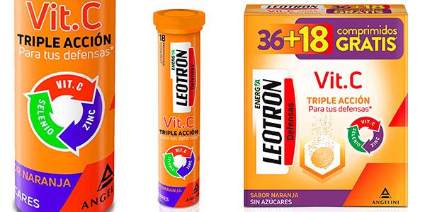 Chollo Complemento alimenticio Leotron Vitamina C de 54 comprimidos