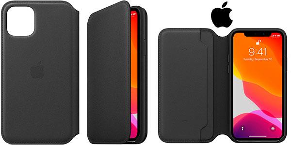 Chollo Funda Apple Leather Folio para el iPhone 11 Pro