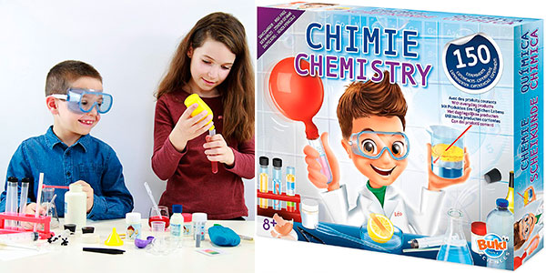 Chollo Juego Chimie Chemistry con 150 experimentos químicos para niños
