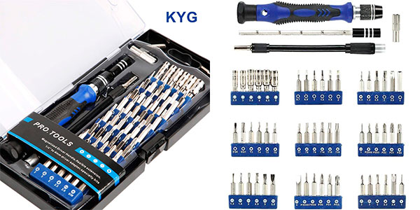 Chollo Set de destornilladores KYG de 56 puntas