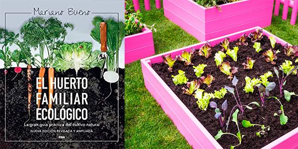 """Chollo Libro """"El huerto familiar ecológico"""" en versión Kindle"""