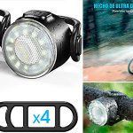 Chollo Luces LED impermeables y recargables para bicicleta