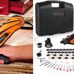 Chollo Mini amoladora Tacklife RTD35ACL con 80 accesorios y maletín