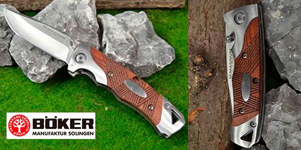 Navaja Böker Magnum de acero 440 con 7,2 cm de hoja