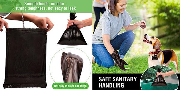Chollo Pack de 760 bolsas biodegradables con 2 dispensadores para excrementos de perro