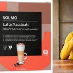 Chollo Pack de 96 cápsulas Solimo Latte Macchiato compatible Dolce Gusto