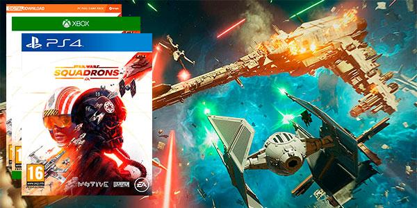 Star Wars Squadrons para PS4, Xbox One y Pc al mejor precio