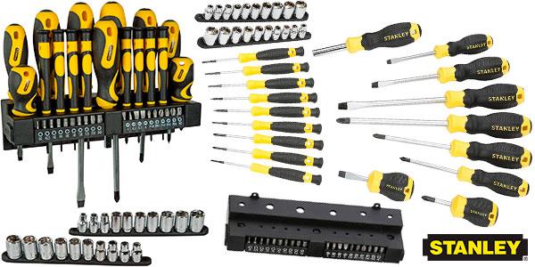 Chollo Set Stanley STHT0-62143 de destornilladores y punta de 57 piezas