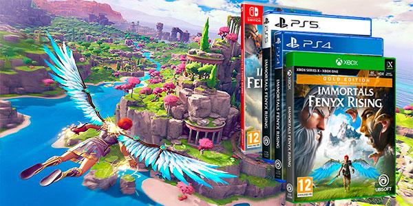 Reserva Immortals Fenyx Rising para Switch, Xbox One, PS4 y PS5 al mejor precio