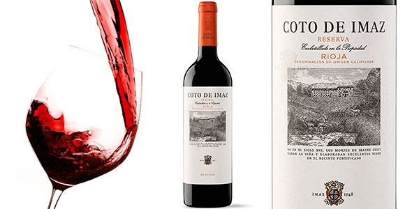 Chollo Vino tinto Coto de Imaz Reserva DO Rioja de 75 cl