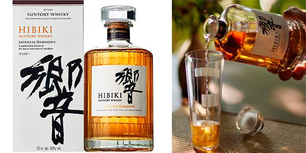 Chollo Whisky Hibiki Suntory Japanese Harmony de 700 ml