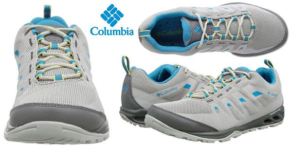 Chollo Zapatillas de senderismo Columbia Vapor Vent para mujer