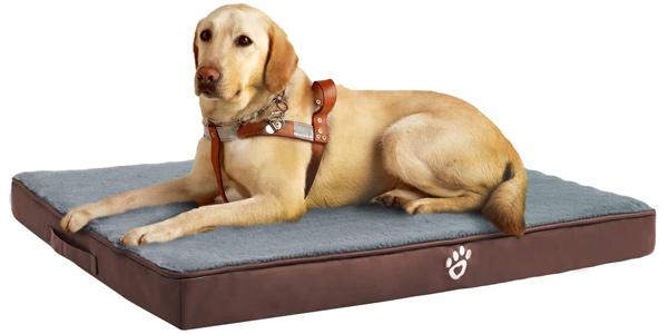 Colchón de espuma viscoelástica Fristone para perro oferta en Amazon