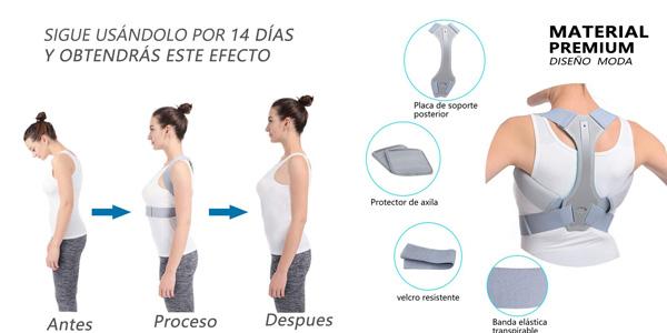 Corrector Postura HOPAI para espalda y hombros chollazo en Amazon
