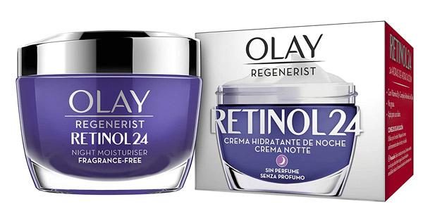 Crema hidratante de noche Olay Regenerist Retinol24 de 50 ml barata en Amazon
