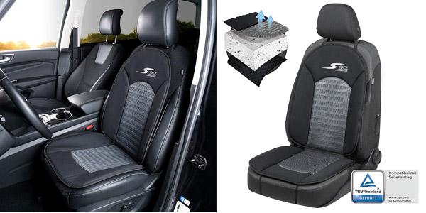 Cubierta asiento coche Walser Car Comfort S-Race 11652 estilo deportivo chollo en Amazon