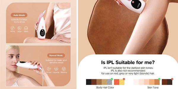 Depiladora IPL de Luz Pulsada Innza oferta en Amazon