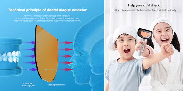 Detector de placa dental Xiaomi DR.BEI YMYM YD1 chollo en AliExpress