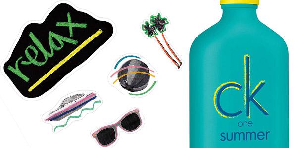 Agua de colonia unisex Calvin Klein Ck One Summer 2020 chollo en Amazon