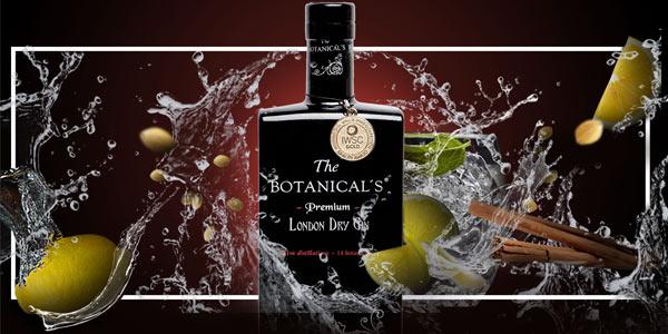 Ginebra Botanical's Premium Dry Gin de 700 ml barata en Amazon
