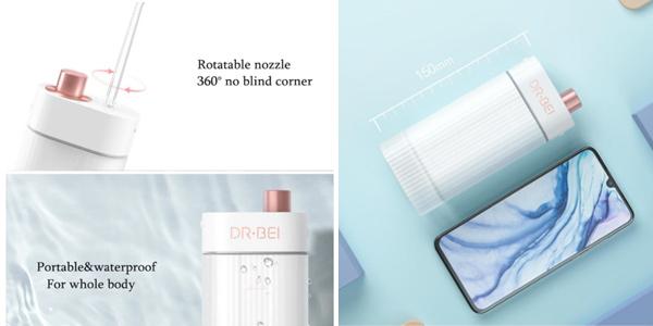 Irrigador dental Xiaomi Dr.Bei F3 inalámbrico chollo en AliExpress