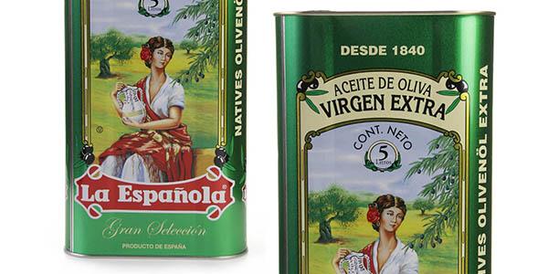 La Española AOVE Gran Selección lata de 5 litros chollo