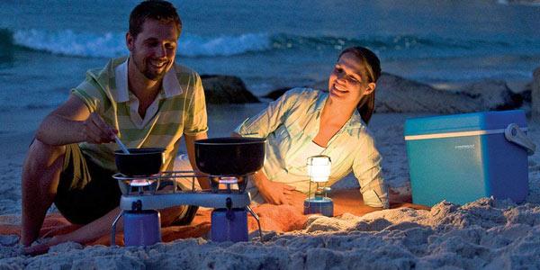 Linterna de cartucho Campingaz de 80 W chollo en Amazon