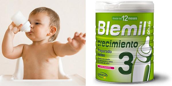 Leche de crecimiento Blemil Plus 3 desde los 12 meses 800 gr barata en Amazon