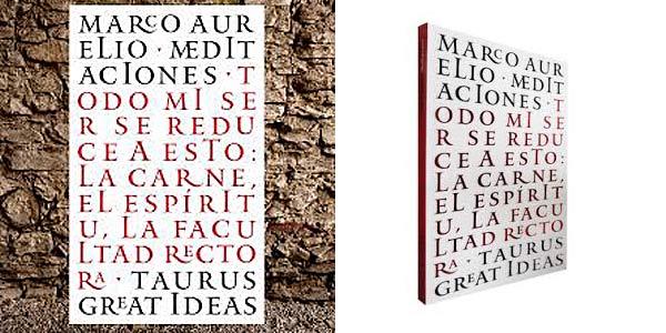 """Libro """"Meditaciones de Marco Aurelio"""" en tapa blanda barato en Amazon"""