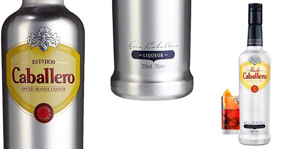 Licor de Naranja Especiado Caballero de 750 ml barato en Amazon