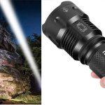 Linterna LED Alta Potencia Militar T6 Rehkittz S1600 barata en Amazon