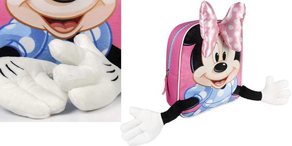 Mochila Infantil Minnie Mouse 3D chollo en Amazon