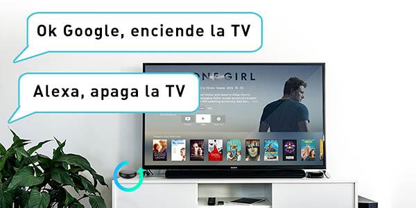 Compatible con Alexa y Google