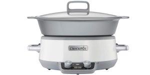 Olla de cocción lenta digital Crock-Pot Duraceramic CSC027X de 6 L barata en Amazon