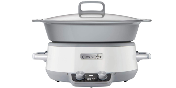 Olla de cocción lenta digital Crock-Pot Duraceramic CSC027X de 6 L barata en Amazon