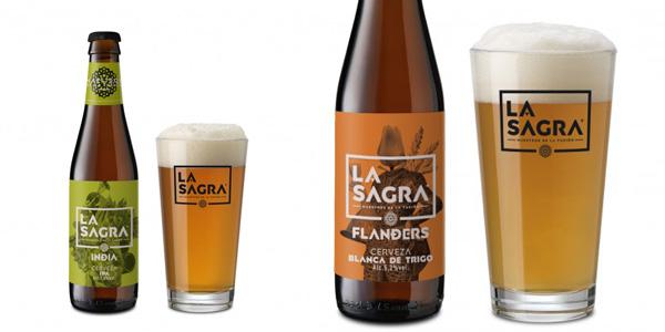 Pack x12 Degustación de Cerveza Artesanal La Sagra de 33 cl/ud oferta en Amazon