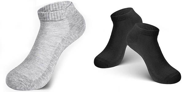 Pack de 12 pares de calcetines Rovtop tobilleros unisex