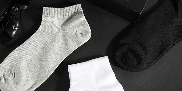 Pack de 12 pares de calcetines Rovtop tobilleros unisex baratos