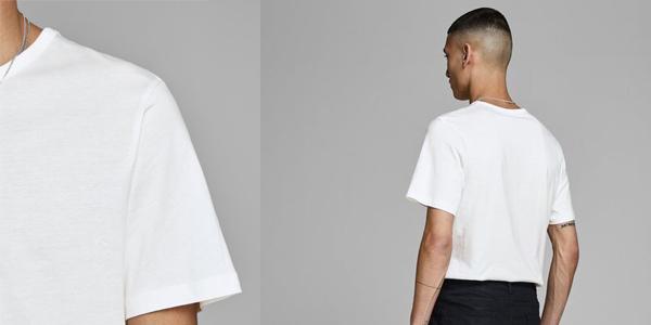 Pack x2 Camisetas básicas Jack & Jones para hombre chollo en Amazon