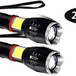 Pack x2 Linternas LED magnéticas con luz de trabajo COB baratas en Amazon