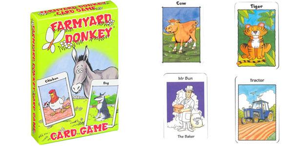 Pack x4 juegos de cartas de memoria para niños Cartamundi oferta en Amazon